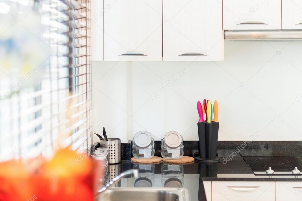 Huis keuken decoratie u stockfoto hkt