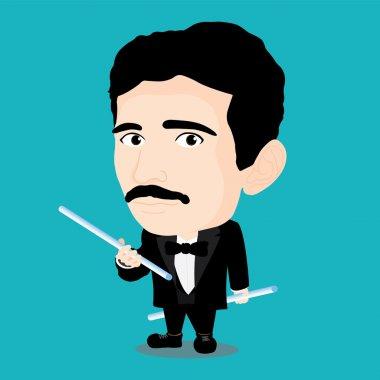 Character of Nikola Tesla