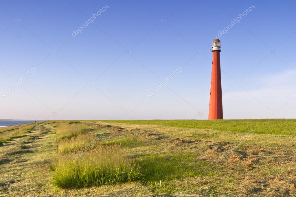 Lighthouse Lange Jaap Den Helder, Netherlands