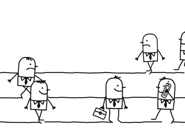 animációs film férfiak, rohanás óra menetidő