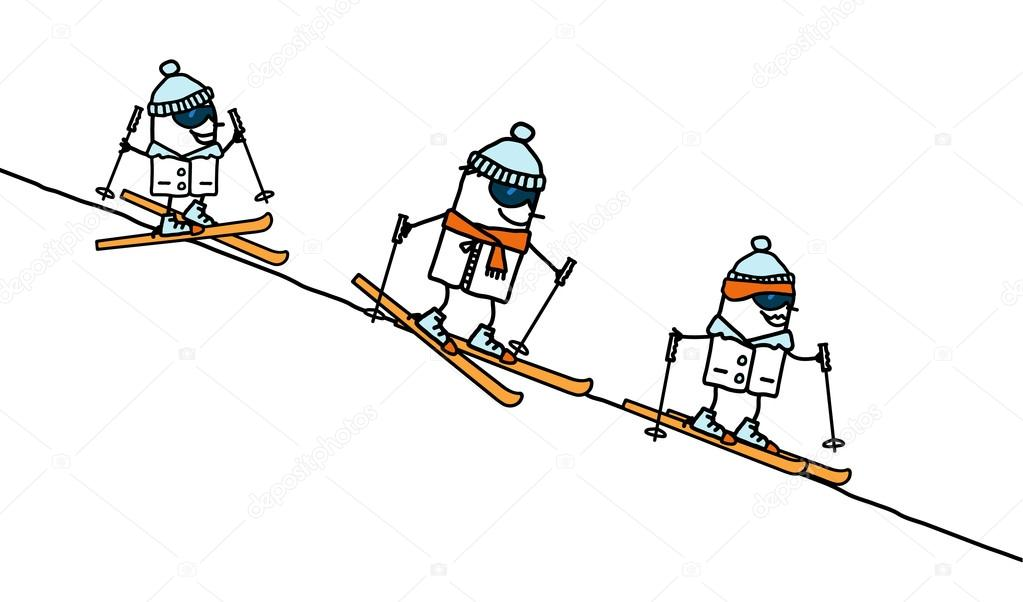 Výsledek obrázku pro lyžování