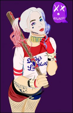 Illustration: Harley Quinn