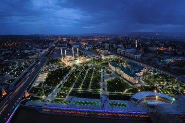 Chechnya, Grozny night