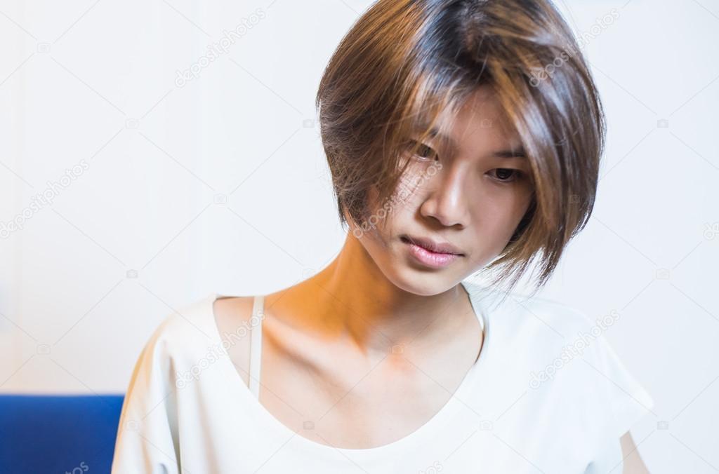 Короткие стрижки азиаты