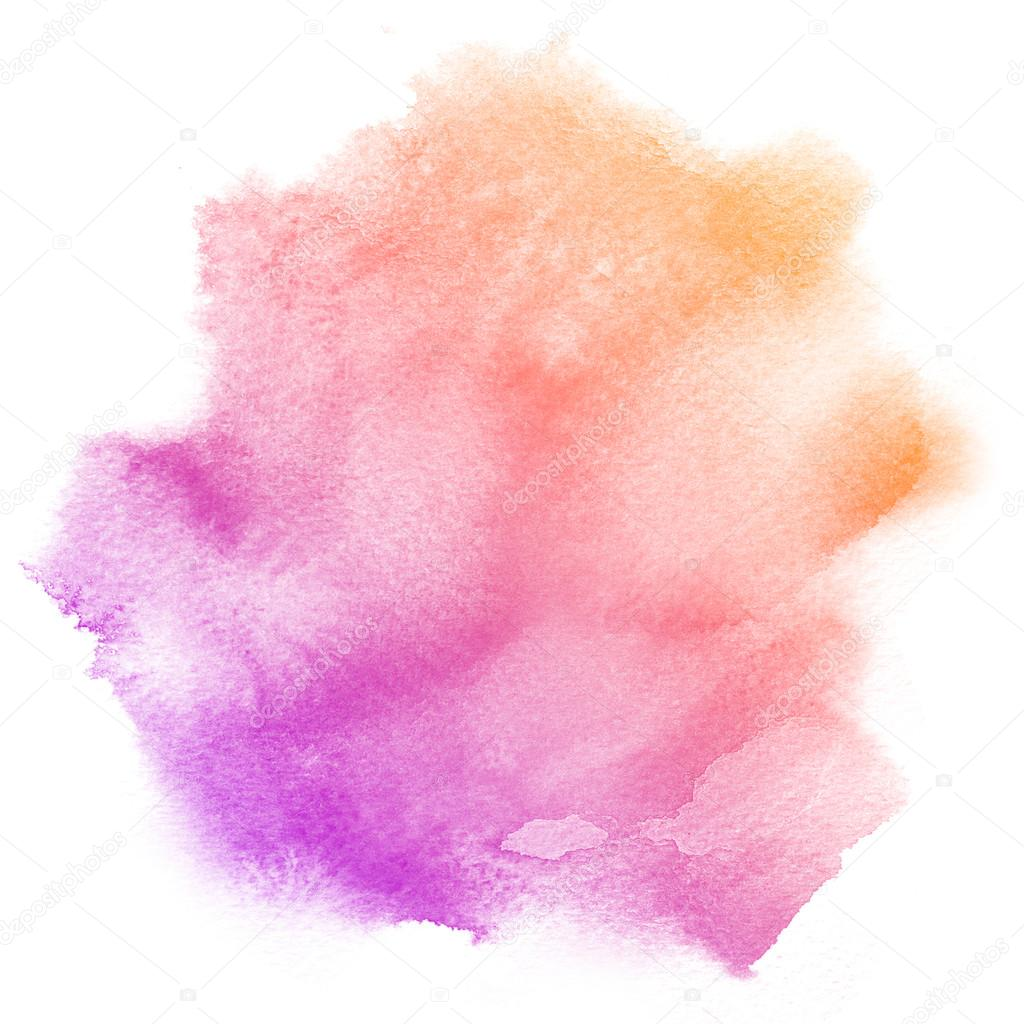 how to make purple colour with watercolours
