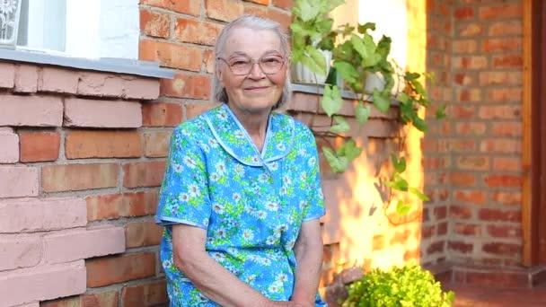 Starší starší ženský portrét