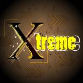 Extreme grunge design background