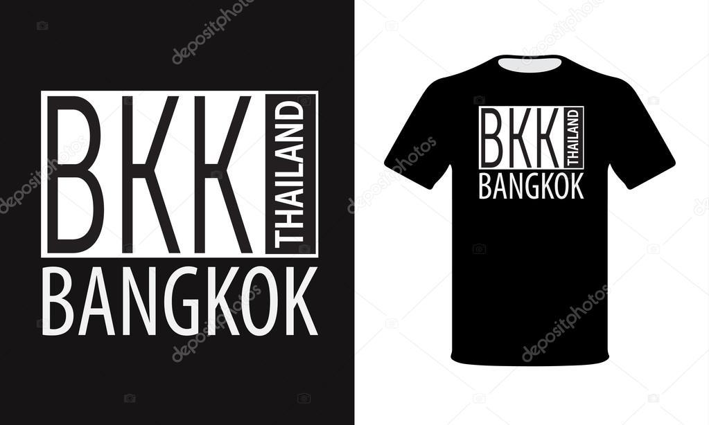 T-Shirt Design Bangkok Thailand