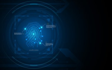 Fingerprint security pattern
