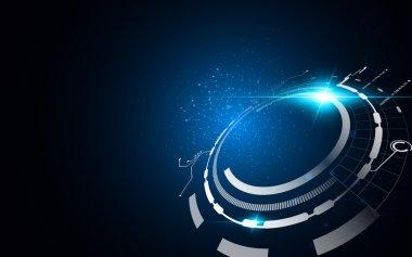 Technology communication innovation background