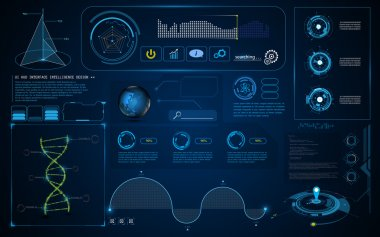 HUD interface UI Screen