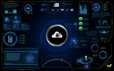 HUD interface UI technology security