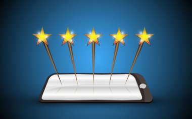 Tablet stars rating system