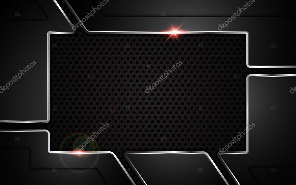 Textura abstracta placa metálica acero — Vector de stock © pixtumz ...