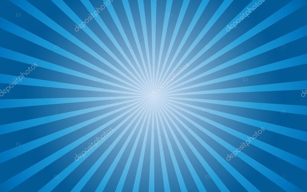 Background blue gradient radial