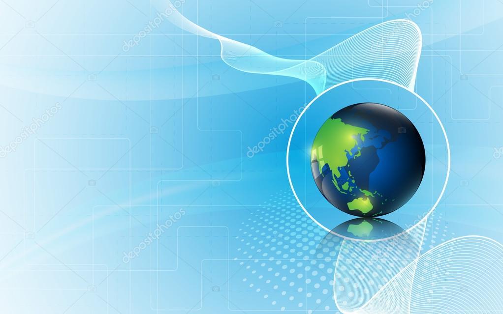 World innovation tech concept