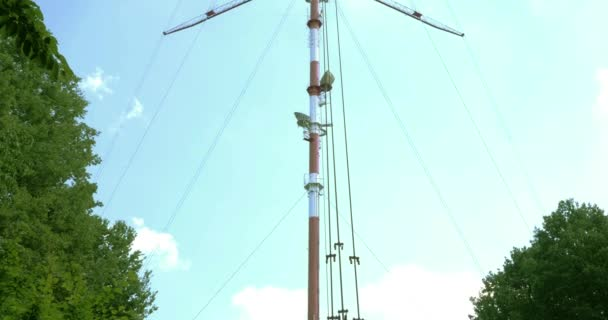 Big Television And Radio Tower