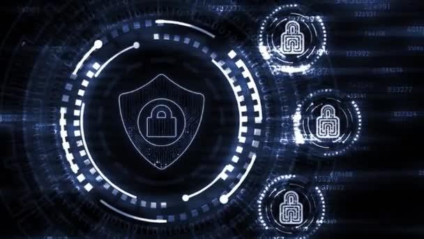 Internet, üzlet, technológia és hálózati koncepció. Kiberbiztonsági adatvédelmi üzleti technológiai adatvédelmi koncepció.