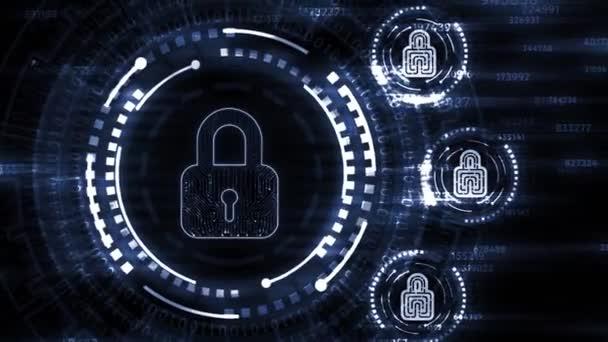 Internet, podnikání, technologie a síťové koncepce. Cyber security data protection business technology privacy concept.