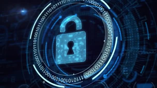 Cyber Security Data Protection Business technologie soukromí koncept