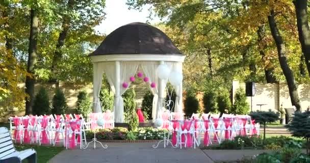 krásné venkovní místo pro svatební obřad