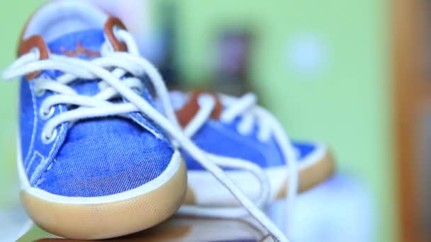 Kinder blaue Jeans Denim Gummischuhe