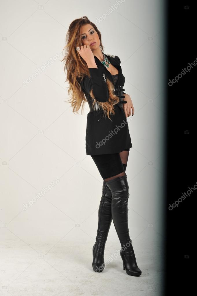 Fotos Negra Chaqueta Con Vestidas Y Mujeres qxw08qrC