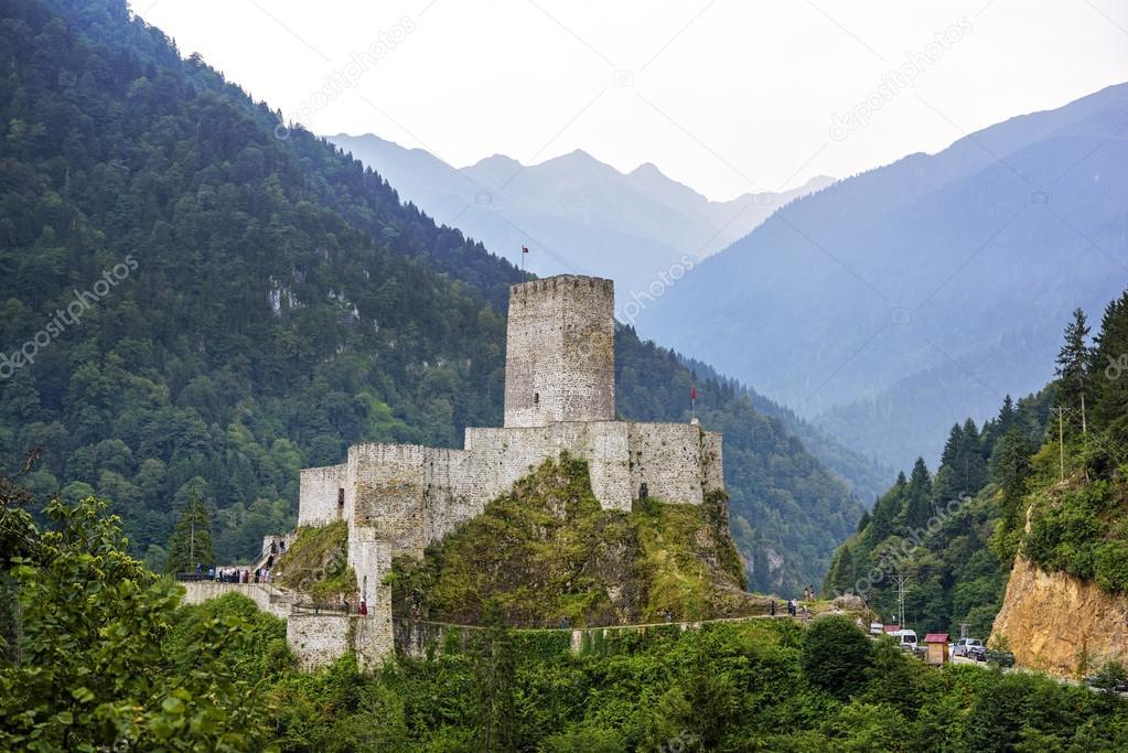 Zilkale castle, bell castle in Rize province