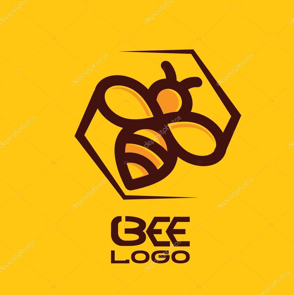 bee logo design � stock vector 169 inspiredrive 118332820