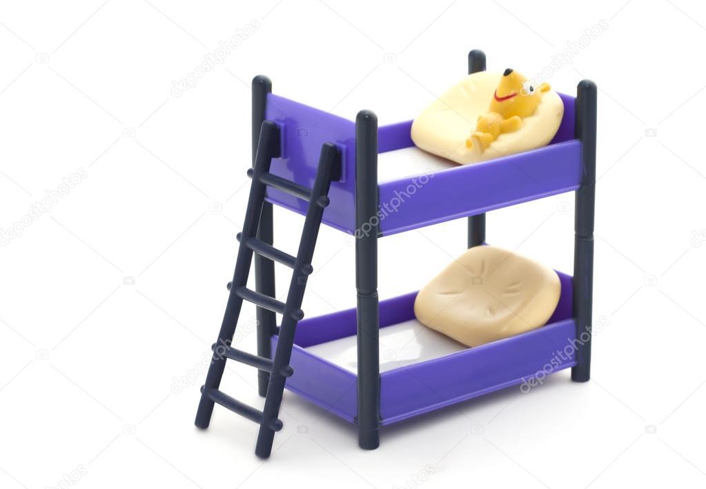 Etagenbett Puppen : Puppen etagenbett mit inhalt