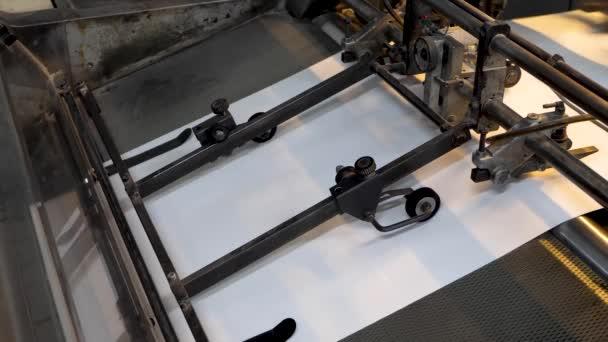 Tiskový stroj tiskový papír v typografii
