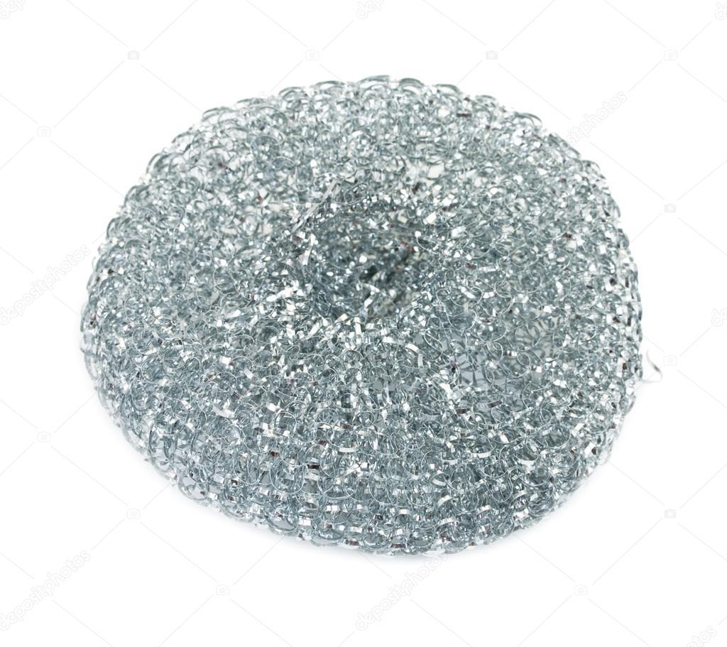 Acero inoxidable, esponja de metal para limpiar los utensilios de ...