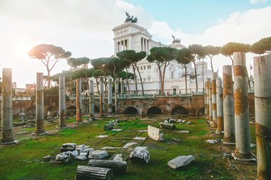 "Картина, постер, плакат, фотообои ""Руины древнего города Помпеи"", артикул 121977064"