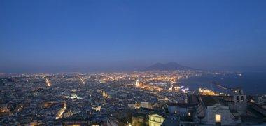 Night landscape in Naples