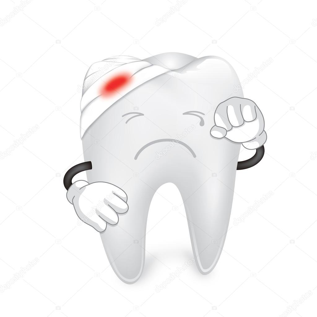 Открытки, открытка зубик не боли