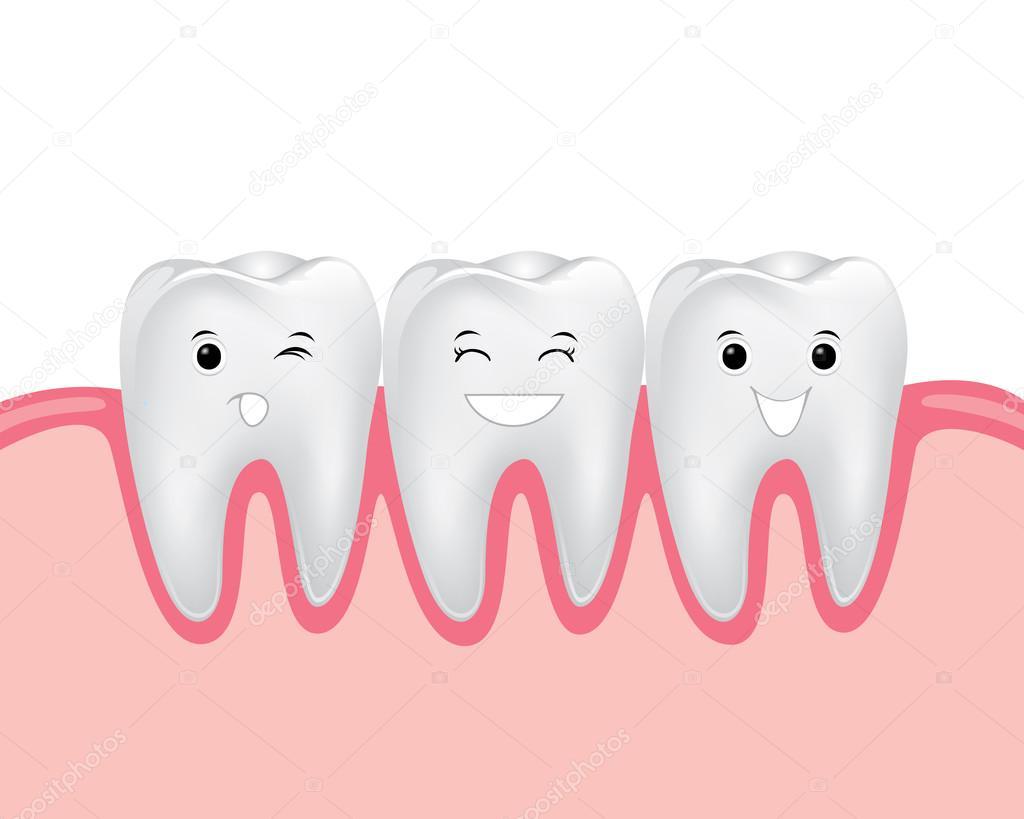 Personaje De Dibujos Animados De Odontología
