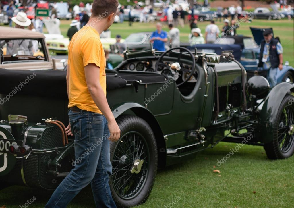 1920s Classic English Bentley Used in TV series