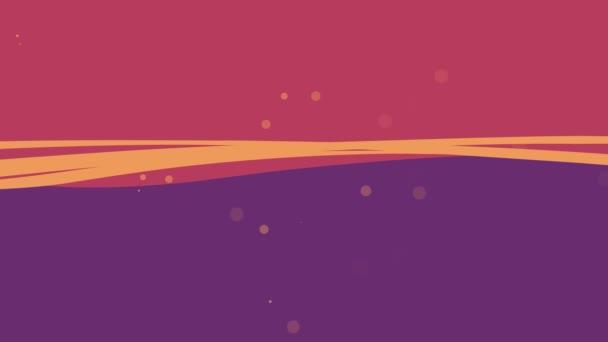 Abstraktní pozadí vlny v barvách fialové a purpurové