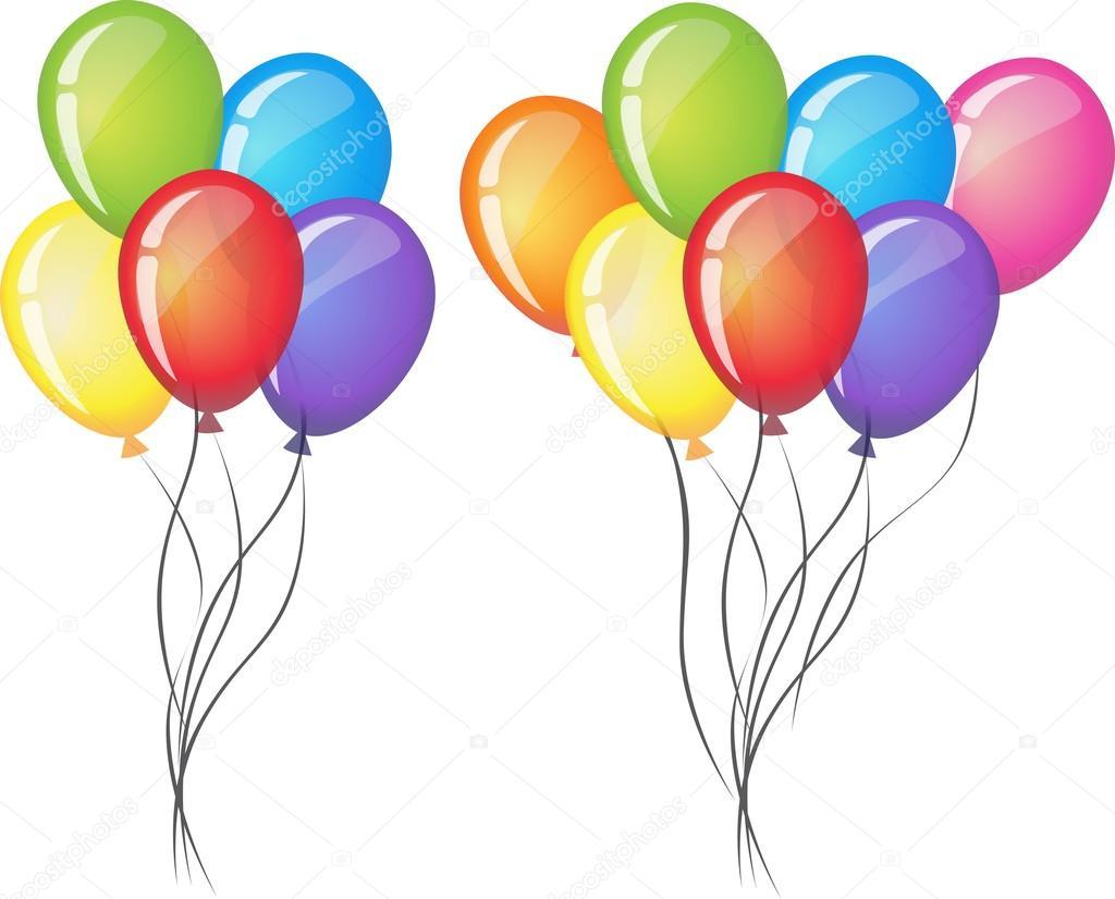 celebrate vector balloons on white background air balloon rh depositphotos com vector balloons free download vector balloons free
