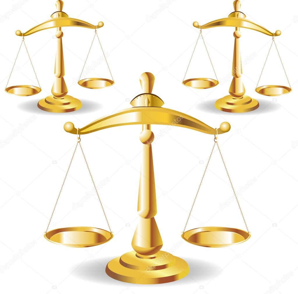 scales of justice symbolizing the measure of a cases support and
