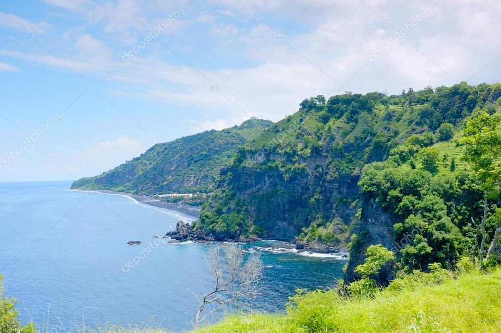 Beach Scenery Great View At Eastern Of Bali Asah Hill Located In - Where is bali located