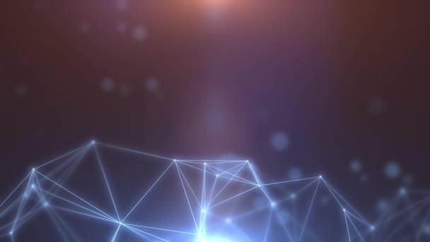 Plexus abstraktní pozadí sítě 07