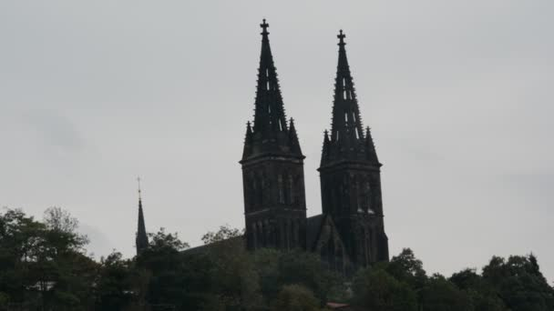 Architecture, monuments and tourists in Prague city, Czech Republic
