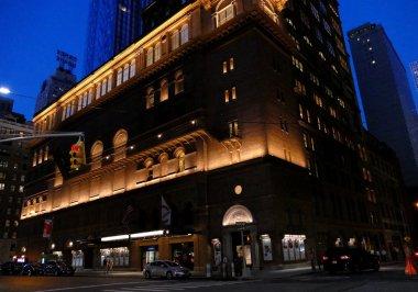 New York, USA. 23rd August, 2016. Carnegie Hall, Manhattan, New York City