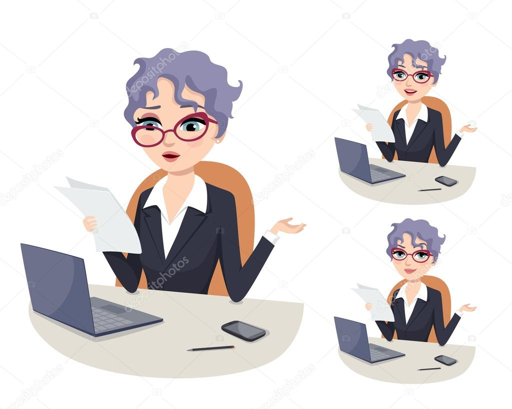 Professional Career Powerful Woman In Politics Overwhelmed With Bureaucratic Work Stock Vector C Draftmm 120953606