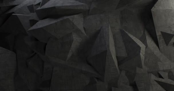 abstrakte Betonmauer Hintergrund Chaos Design (Schleife)