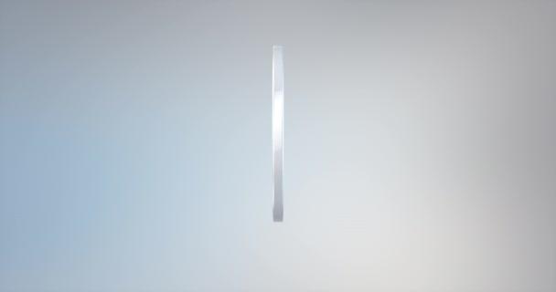 Anti weiß 3D-Symbol
