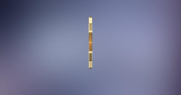 Hvězdička zlatá 3d ikonu