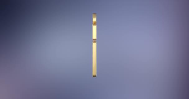 Současné zlaté 3d ikony