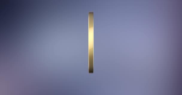 Sterne-Abzeichen Gold 3d Symbol